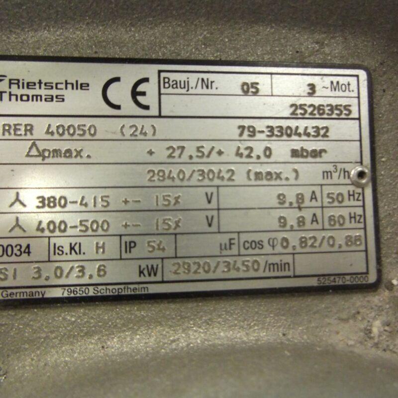 Rietsche Thomas Blower Pump RER 40050
