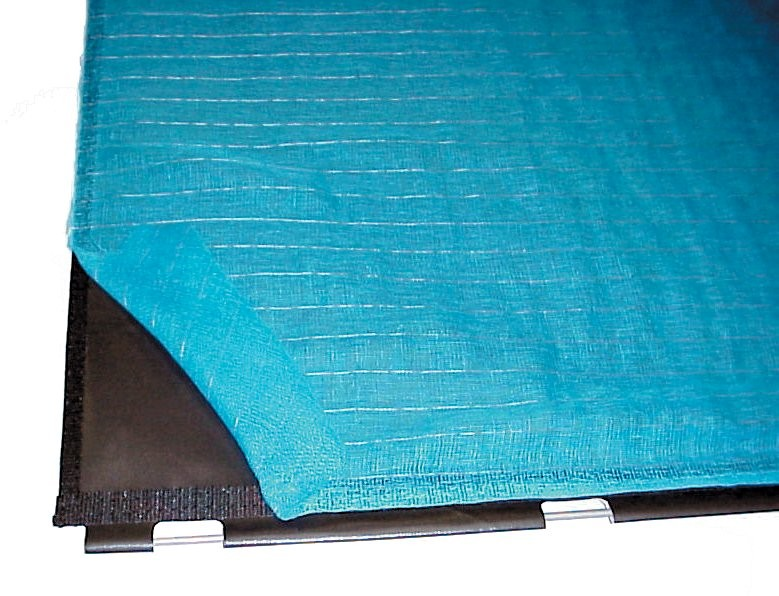 Super Blue 2 Black Base Covers - Transfer Cylinder
