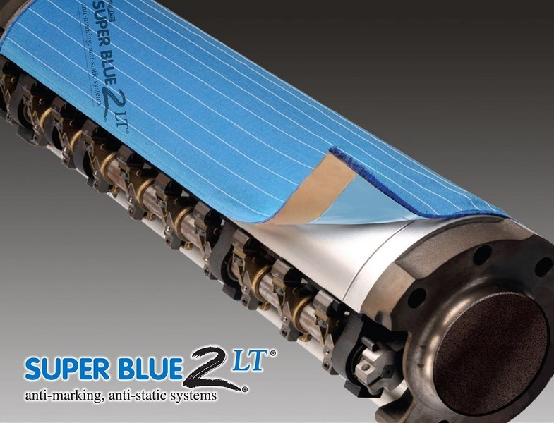 Super Blue 2 LT Series - Integrated Disposable Anti-Marking System - Transfer Cylinder