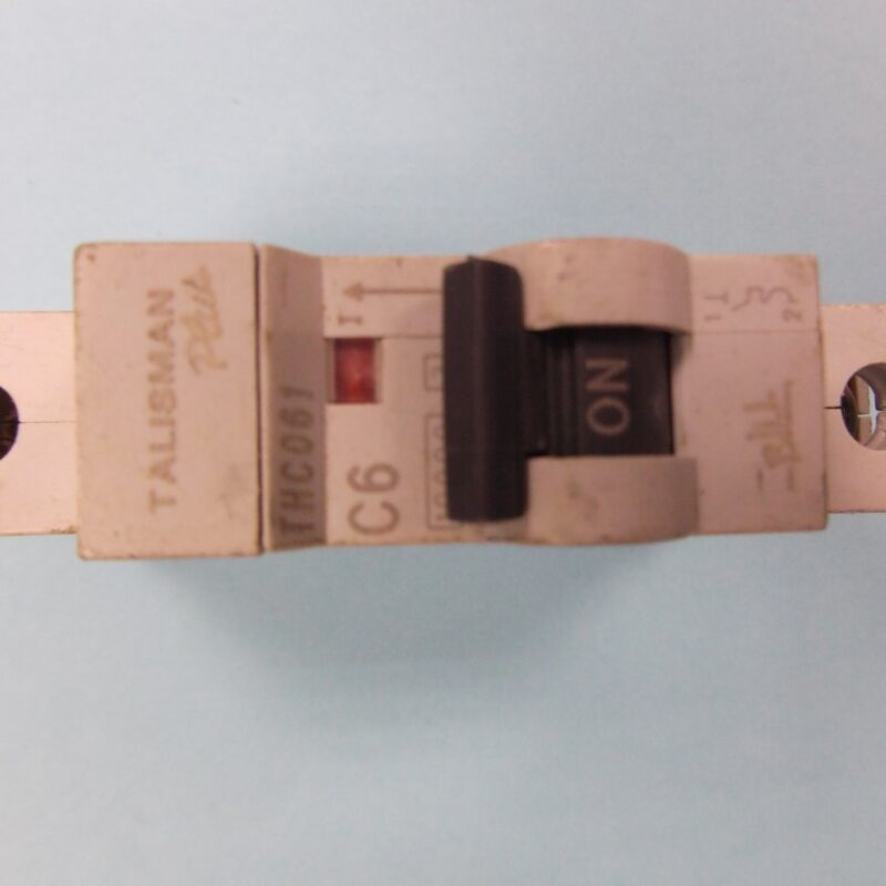 Bill Talisman THCQ61 6 Amp Circuit Breaker