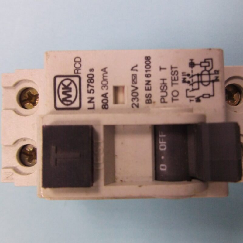 MK RCD DP 2 Module 80A 30MA 230V 5780S