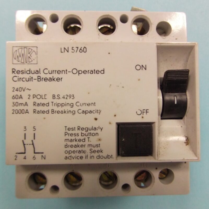 MK RCD 5760 Circuit Breaker