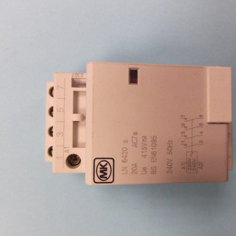 MK 6420s Sentry 20a 4 Pole 2 Module Contractor