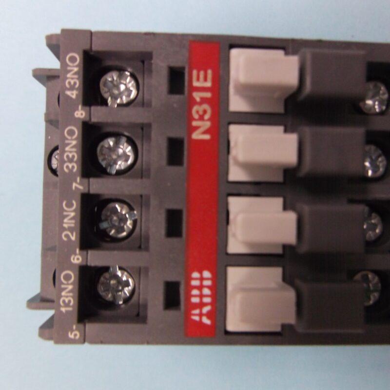 Contactor Relay ABB N31E 110V
