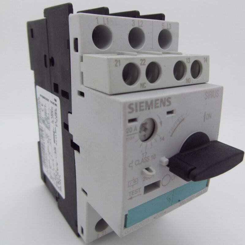 14-20 Amp Motor Protection SIemens 3RV 1021-4BA10