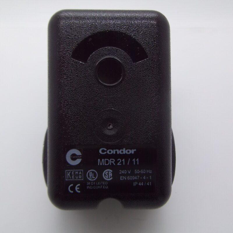 Condor MDR21/11 Pressure Switch Heidelberg Number: 63.102.1921