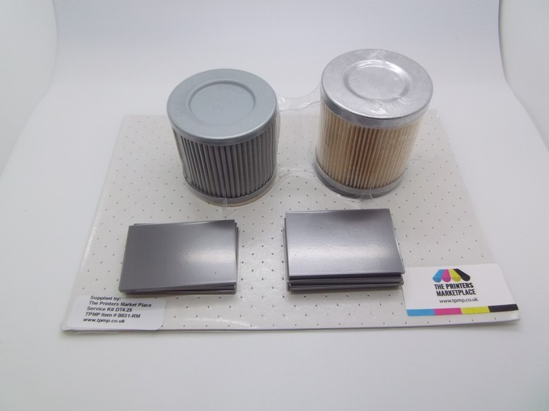 DT4.25 Service Kit - Vanes & Filters for SM74 8 Colour and above
