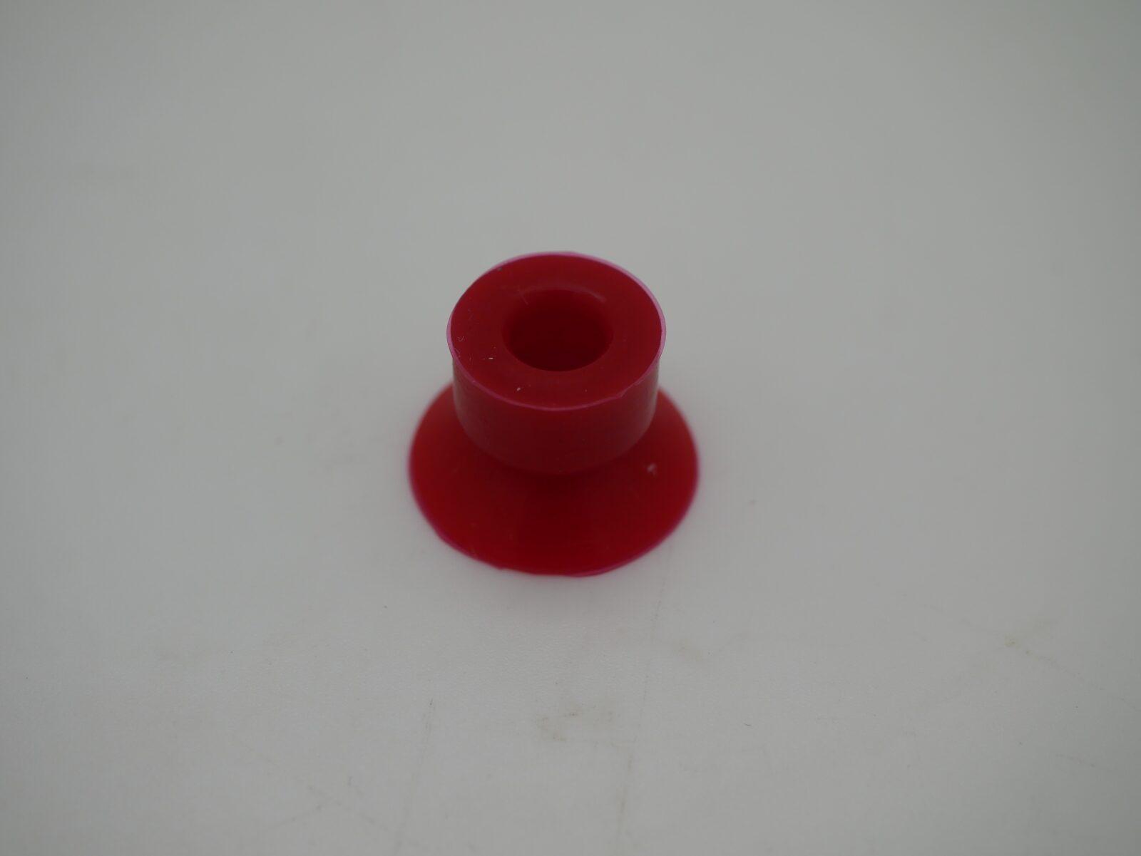 Muller Martini Red Vinyl Sucker 21 x 6 x 15mm A266-O