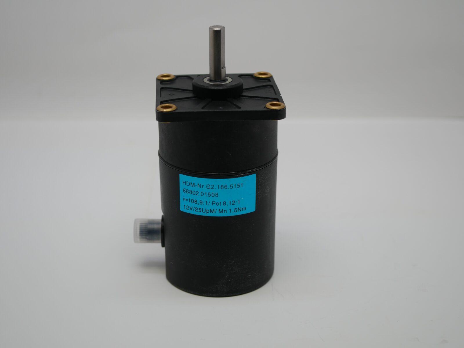 SM52 Servo Drive Motor (Light Blue) HDM: G2.186.5151