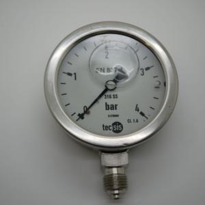 Manometer 0-4 bar – Liquid Filled