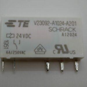 PCB Relay SPDT 6amp 24v DC